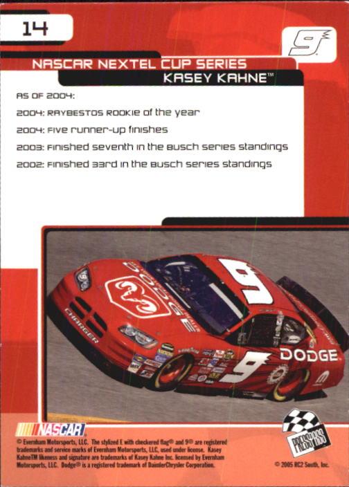 2005-Press-Pass-Trackside-Racing-Card-Pick thumbnail 15