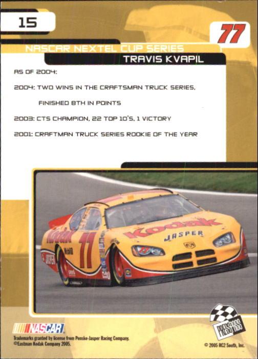 2005-Press-Pass-Trackside-Racing-Card-Pick thumbnail 17
