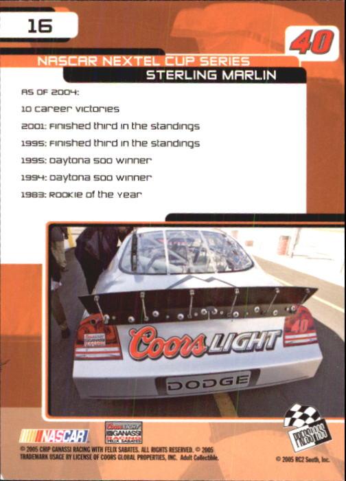 2005-Press-Pass-Trackside-Racing-Card-Pick thumbnail 19