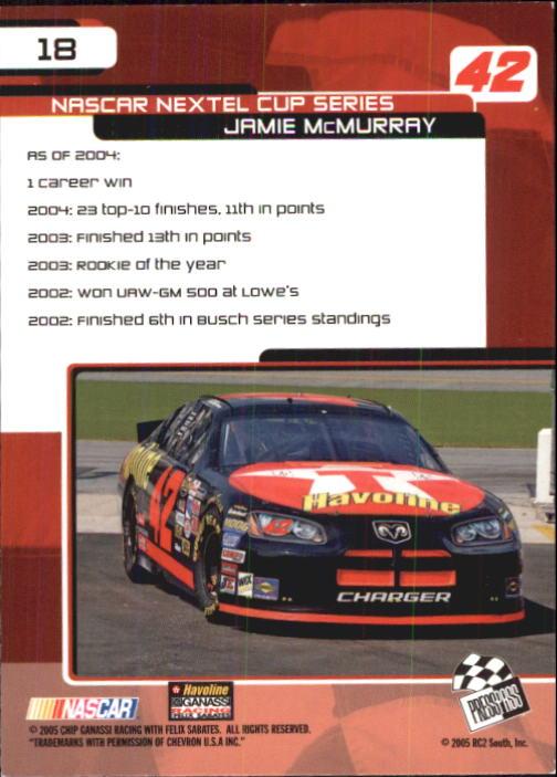 2005-Press-Pass-Trackside-Racing-Card-Pick thumbnail 21