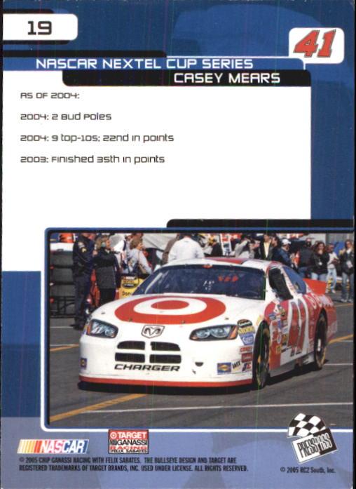 2005-Press-Pass-Trackside-Racing-Card-Pick thumbnail 23
