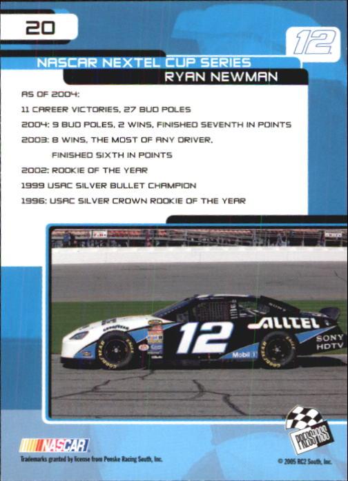2005-Press-Pass-Trackside-Racing-Card-Pick thumbnail 25