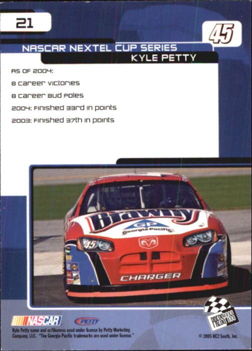 2005-Press-Pass-Trackside-Racing-Card-Pick thumbnail 27