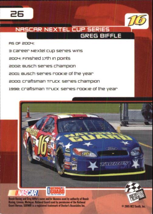 2005-Press-Pass-Trackside-Racing-Card-Pick thumbnail 33