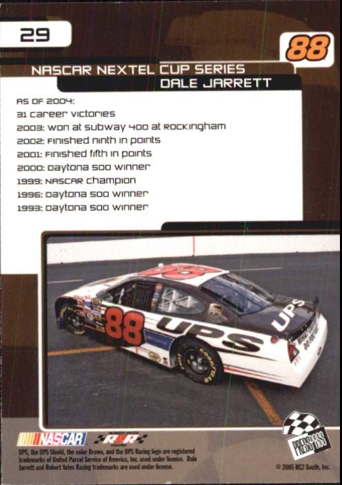 2005-Press-Pass-Trackside-Racing-Card-Pick thumbnail 37