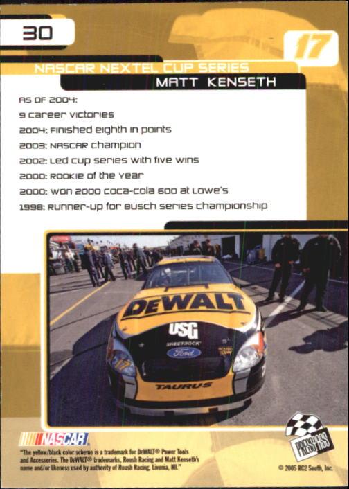 2005-Press-Pass-Trackside-Racing-Card-Pick thumbnail 39