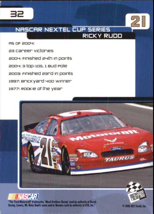 2005-Press-Pass-Trackside-Racing-Card-Pick thumbnail 43