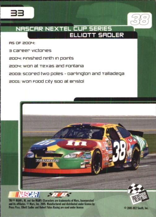 2005-Press-Pass-Trackside-Racing-Card-Pick thumbnail 45