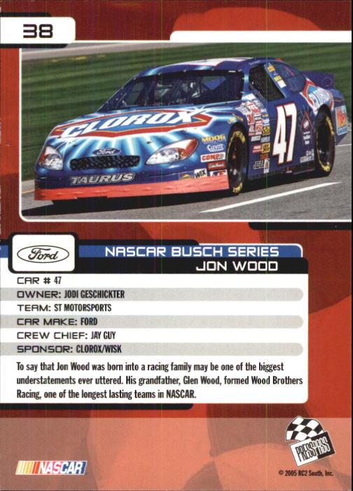 2005-Press-Pass-Trackside-Racing-Card-Pick thumbnail 49