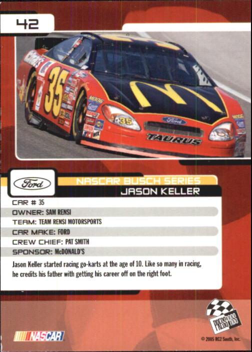 2005-Press-Pass-Trackside-Racing-Card-Pick thumbnail 55