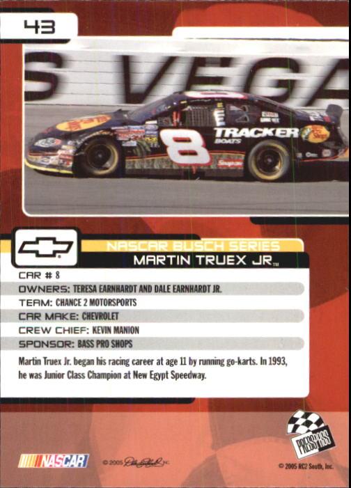 2005-Press-Pass-Trackside-Racing-Card-Pick thumbnail 57