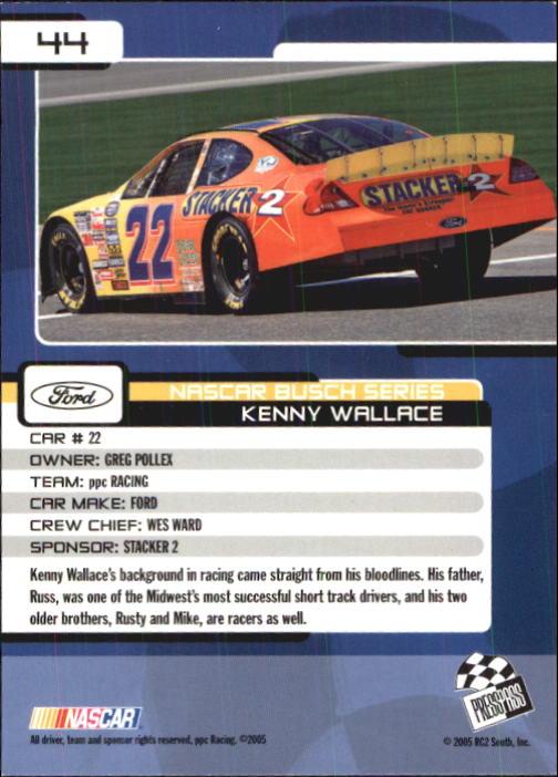 2005-Press-Pass-Trackside-Racing-Card-Pick thumbnail 59
