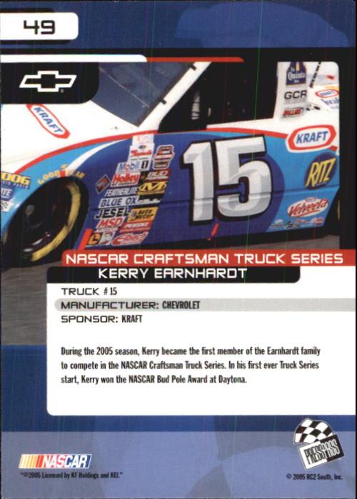 2005-Press-Pass-Trackside-Racing-Card-Pick thumbnail 65