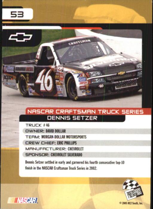 2005-Press-Pass-Trackside-Racing-Card-Pick thumbnail 71