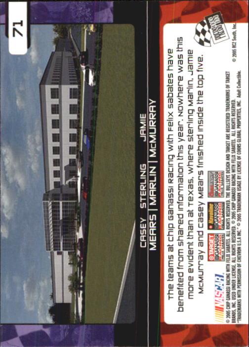 2005-Press-Pass-Trackside-Racing-Card-Pick thumbnail 105