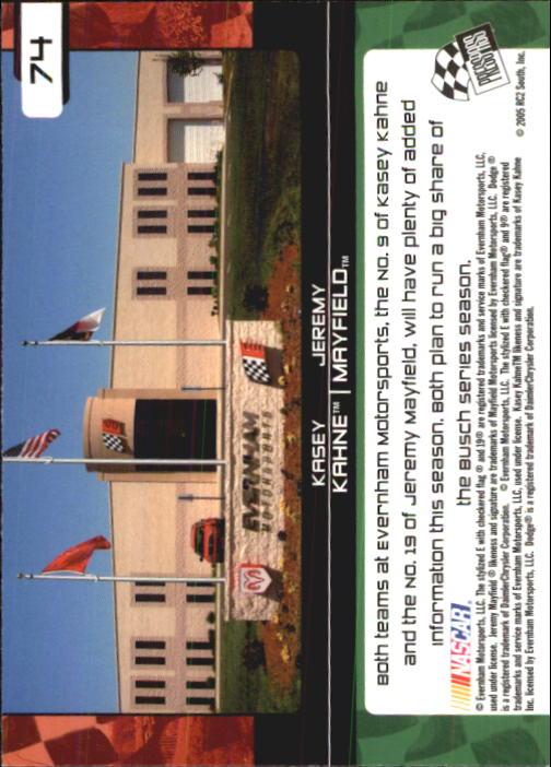 2005-Press-Pass-Trackside-Racing-Card-Pick thumbnail 111