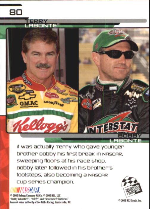 2005-Press-Pass-Trackside-Racing-Card-Pick thumbnail 121
