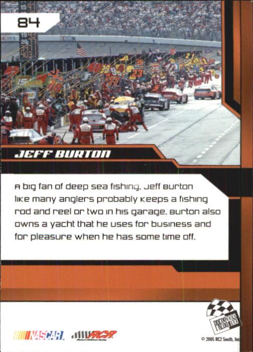2005-Press-Pass-Trackside-Racing-Card-Pick thumbnail 125