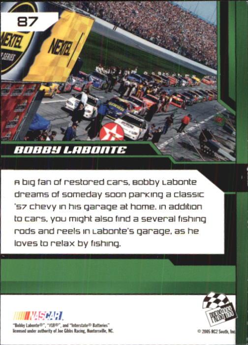 2005-Press-Pass-Trackside-Racing-Card-Pick thumbnail 131