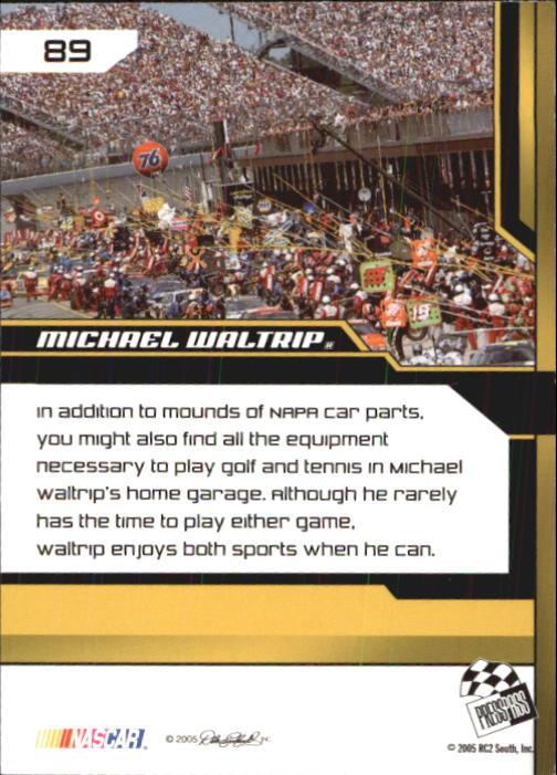 2005-Press-Pass-Trackside-Racing-Card-Pick thumbnail 135