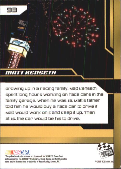 2005-Press-Pass-Trackside-Racing-Card-Pick thumbnail 141