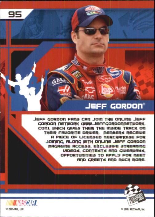 2005-Press-Pass-Trackside-Racing-Card-Pick thumbnail 145