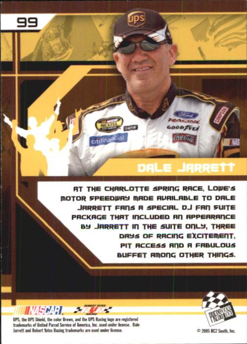 2005-Press-Pass-Trackside-Racing-Card-Pick thumbnail 151