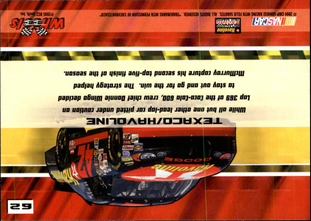 2005-Wheels-High-Gear-Race-s-1-90-Inserts-A3388-You-Pick-10-FREE-SHIP thumbnail 107