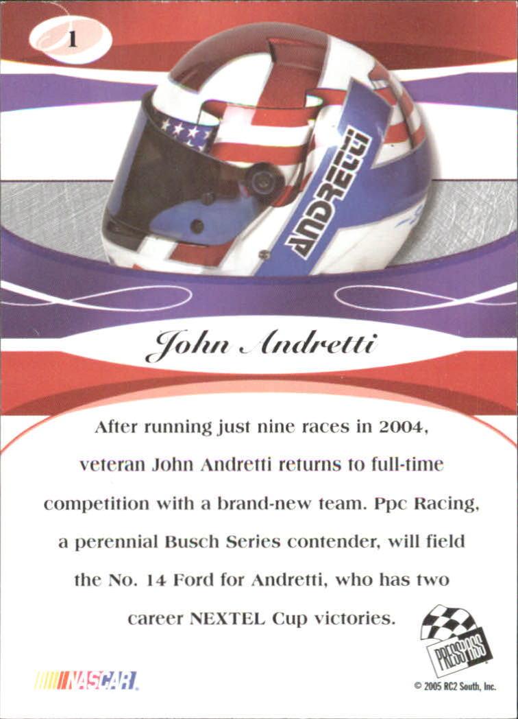 2005-Press-Pass-Premium-Race-Card-s-1-81-A3477-You-Pick-10-FREE-SHIP thumbnail 29