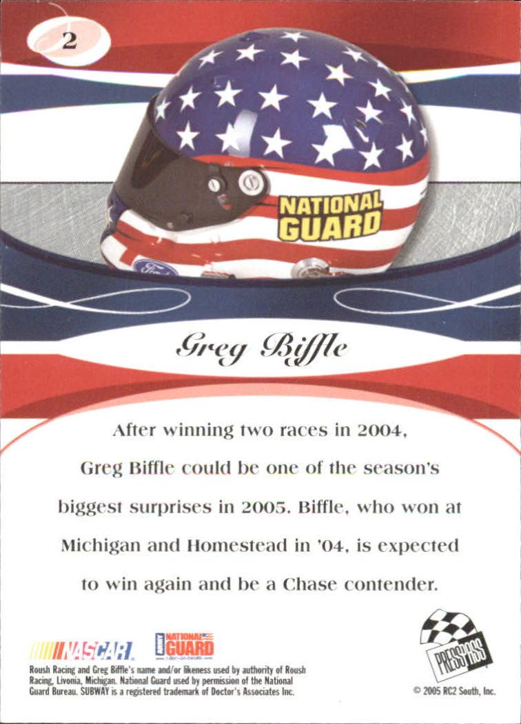 2005-Press-Pass-Premium-Race-Card-s-1-81-A3477-You-Pick-10-FREE-SHIP thumbnail 33