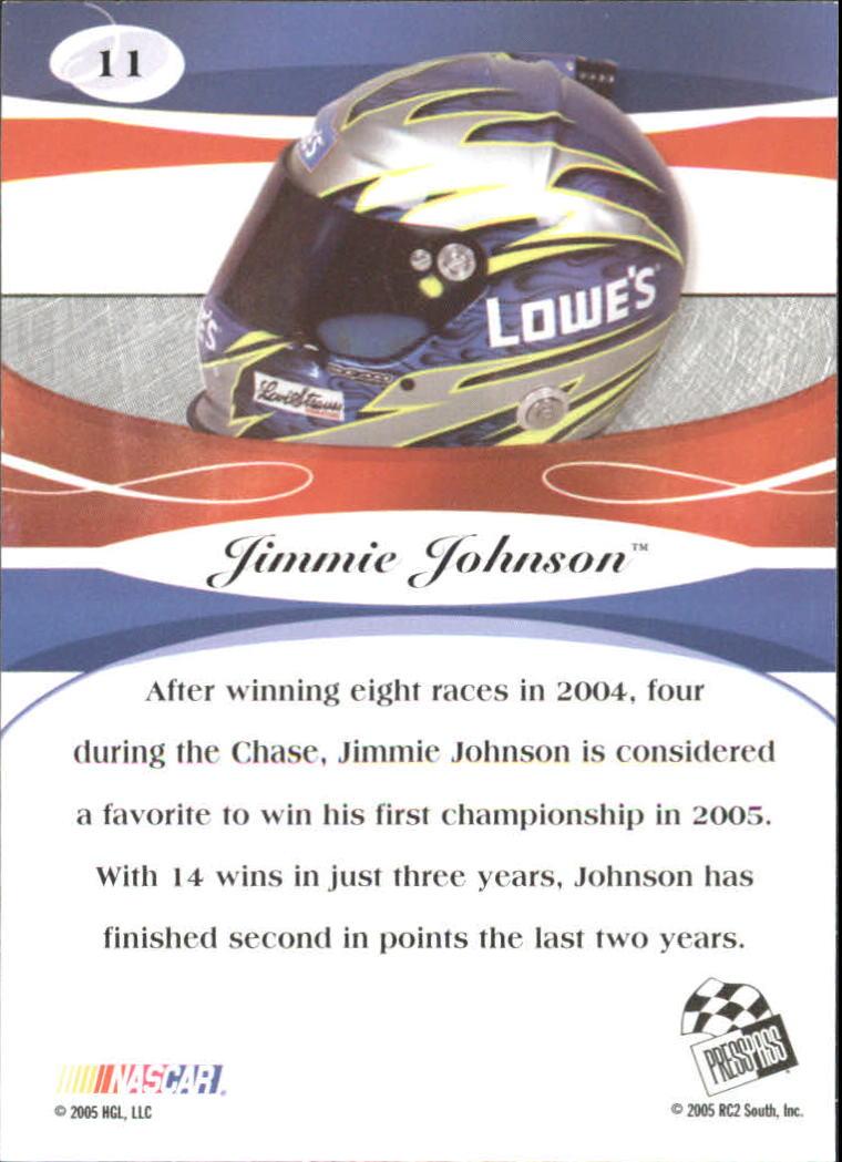 2005-Press-Pass-Premium-Race-Card-s-1-81-A3477-You-Pick-10-FREE-SHIP thumbnail 95