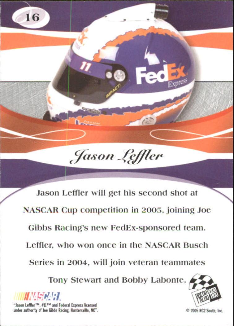 2005-Press-Pass-Premium-Race-Card-s-1-81-A3477-You-Pick-10-FREE-SHIP thumbnail 11