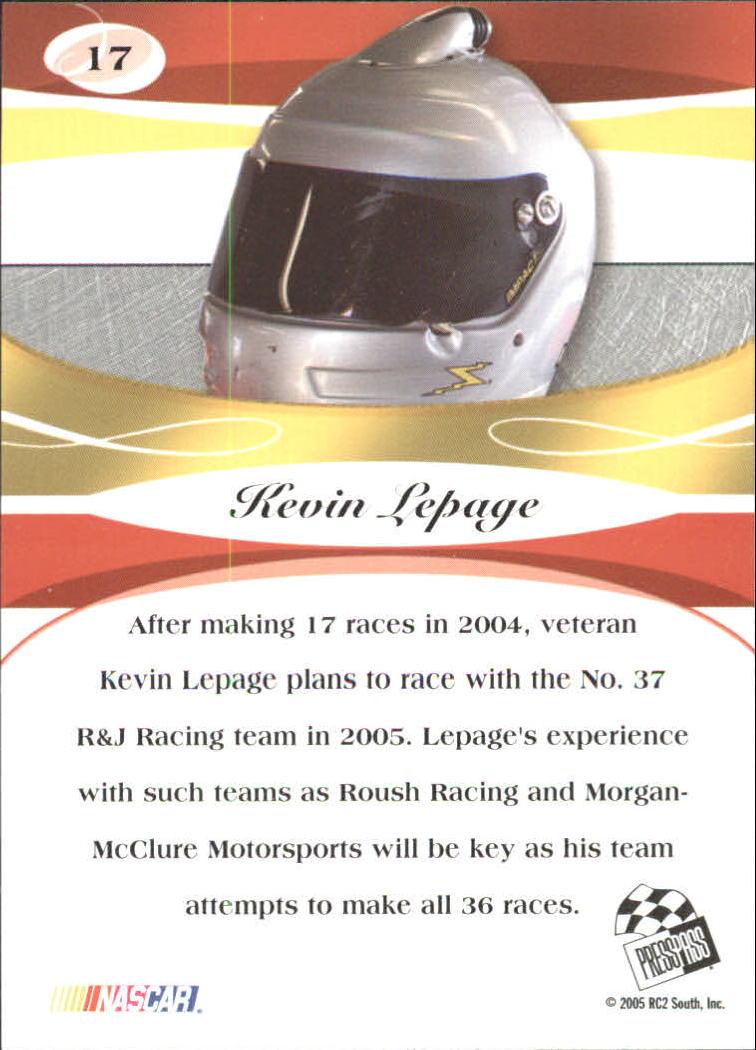 2005-Press-Pass-Premium-Race-Card-s-1-81-A3477-You-Pick-10-FREE-SHIP thumbnail 9