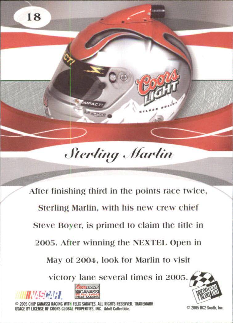 2005-Press-Pass-Premium-Race-Card-s-1-81-A3477-You-Pick-10-FREE-SHIP thumbnail 57