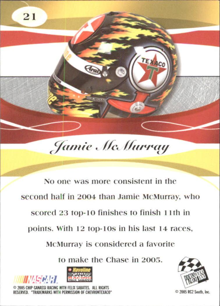 2005-Press-Pass-Premium-Race-Card-s-1-81-A3477-You-Pick-10-FREE-SHIP thumbnail 51