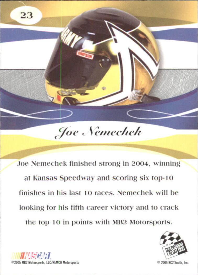 2005-Press-Pass-Premium-Race-Card-s-1-81-A3477-You-Pick-10-FREE-SHIP thumbnail 5