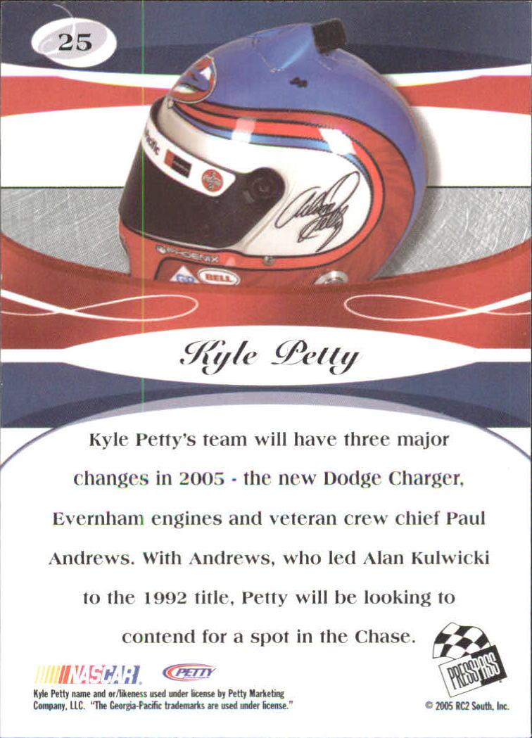 2005-Press-Pass-Premium-Race-Card-s-1-81-A3477-You-Pick-10-FREE-SHIP thumbnail 45