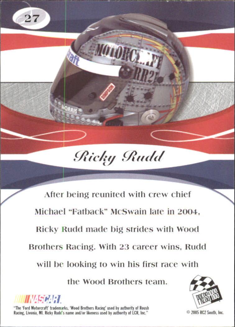 2005-Press-Pass-Premium-Race-Card-s-1-81-A3477-You-Pick-10-FREE-SHIP thumbnail 55
