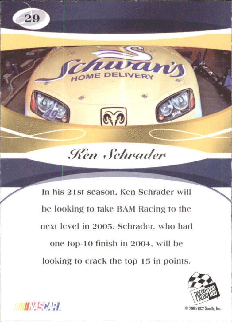 2005-Press-Pass-Premium-Race-Card-s-1-81-A3477-You-Pick-10-FREE-SHIP thumbnail 13