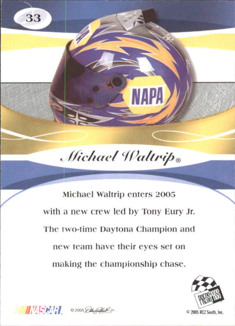 2005-Press-Pass-Premium-Race-Card-s-1-81-A3477-You-Pick-10-FREE-SHIP thumbnail 37