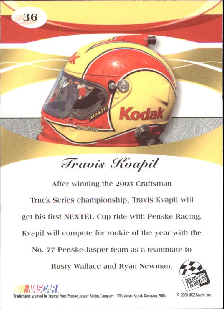 2005-Press-Pass-Premium-Race-Card-s-1-81-A3477-You-Pick-10-FREE-SHIP thumbnail 3