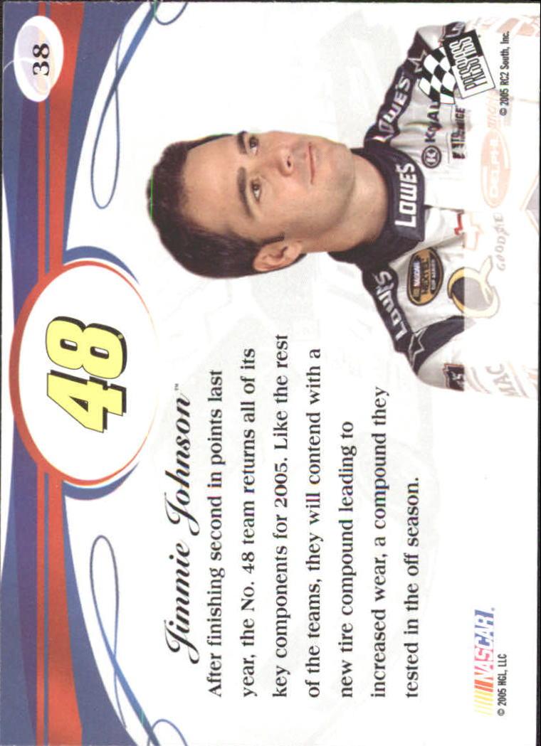 2005-Press-Pass-Premium-Race-Card-s-1-81-A3477-You-Pick-10-FREE-SHIP thumbnail 31