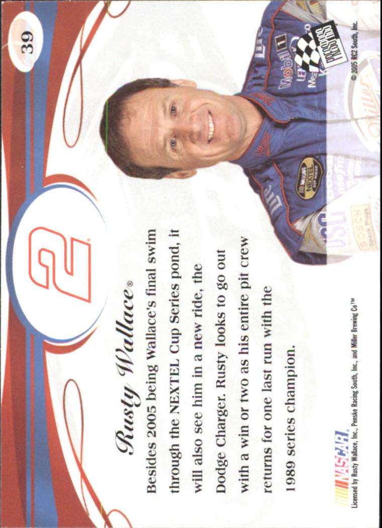 2005-Press-Pass-Premium-Race-Card-s-1-81-A3477-You-Pick-10-FREE-SHIP thumbnail 17