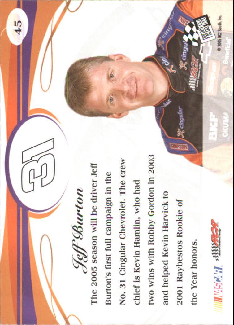 2005-Press-Pass-Premium-Race-Card-s-1-81-A3477-You-Pick-10-FREE-SHIP thumbnail 27