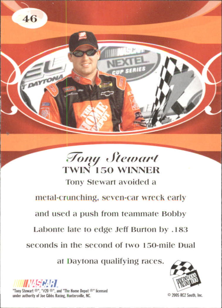 2005-Press-Pass-Premium-Race-Card-s-1-81-A3477-You-Pick-10-FREE-SHIP thumbnail 89