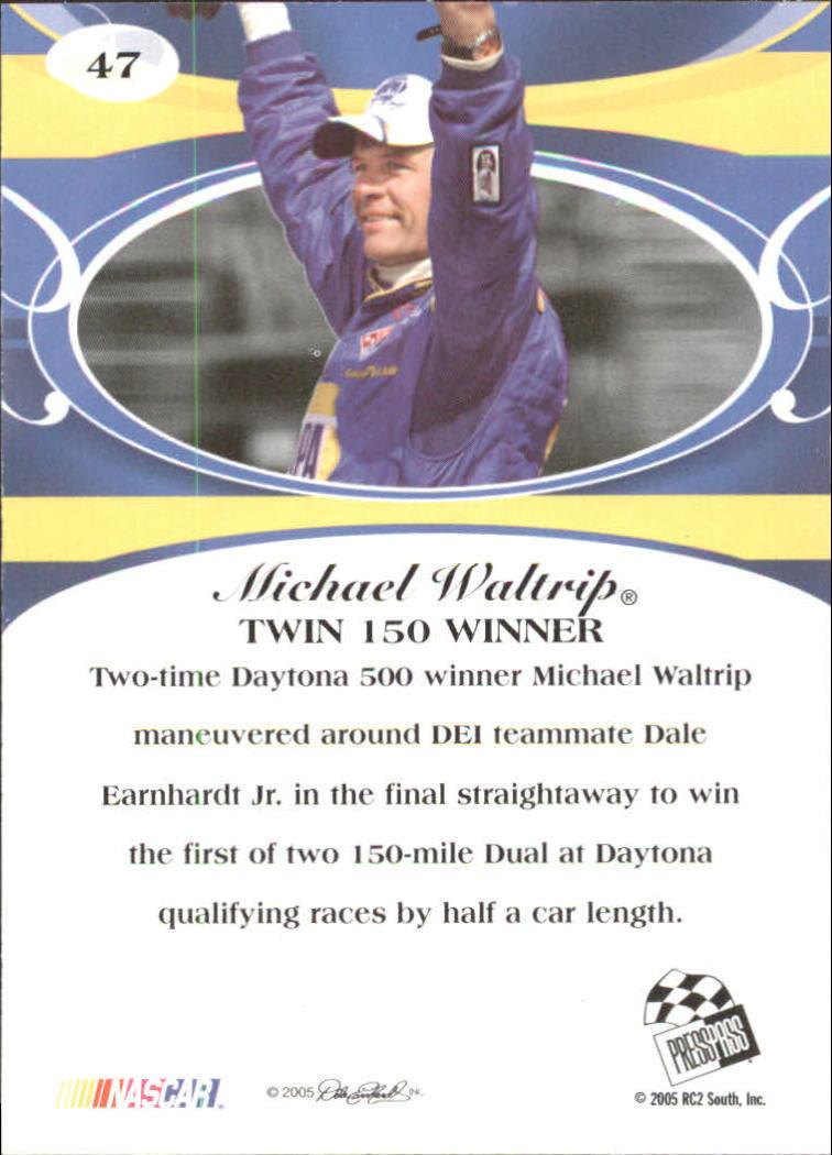 2005-Press-Pass-Premium-Race-Card-s-1-81-A3477-You-Pick-10-FREE-SHIP thumbnail 43