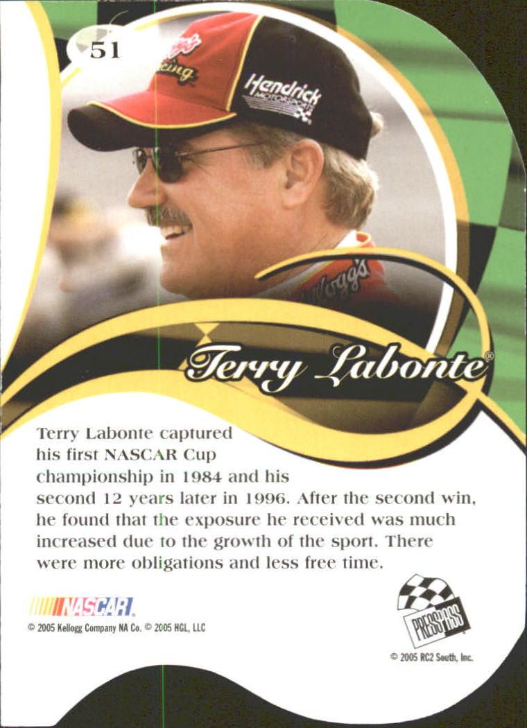 2005-Press-Pass-Premium-Race-Card-s-1-81-A3477-You-Pick-10-FREE-SHIP thumbnail 109