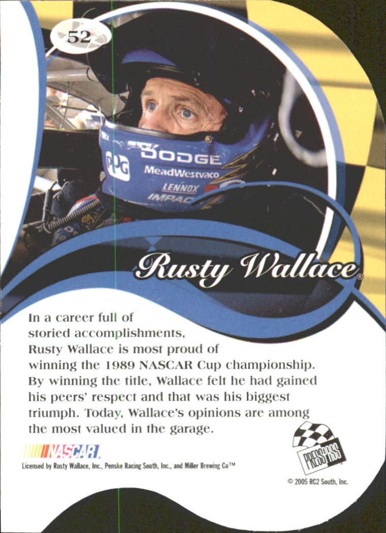 2005-Press-Pass-Premium-Race-Card-s-1-81-A3477-You-Pick-10-FREE-SHIP thumbnail 119