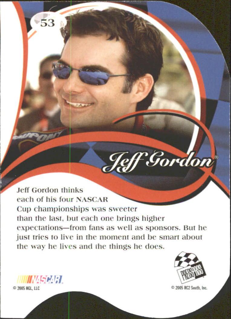 2005-Press-Pass-Premium-Race-Card-s-1-81-A3477-You-Pick-10-FREE-SHIP thumbnail 141