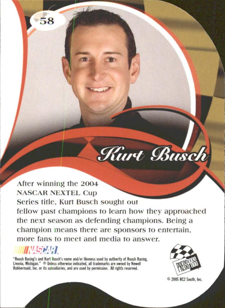 2005-Press-Pass-Premium-Race-Card-s-1-81-A3477-You-Pick-10-FREE-SHIP thumbnail 113